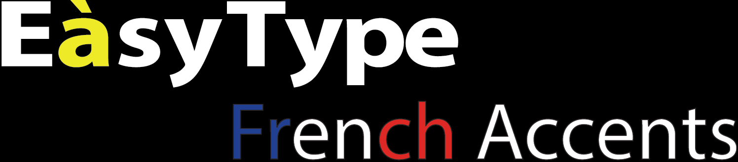 EasyType French Accents